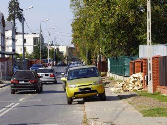 Droga do szkoły - Chodnik Świętojańska
